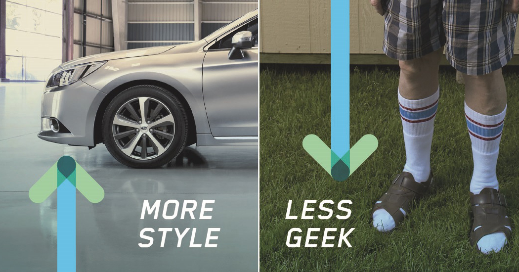 More Style, Less Geek with Subaru