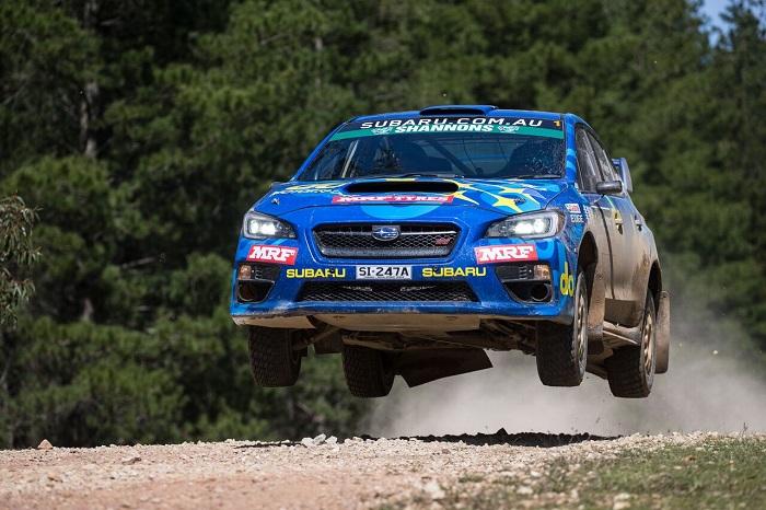 Subaru do Motorsport Rally SA Heat 2