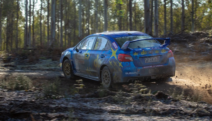 Subaru Rally Tasmania Day One