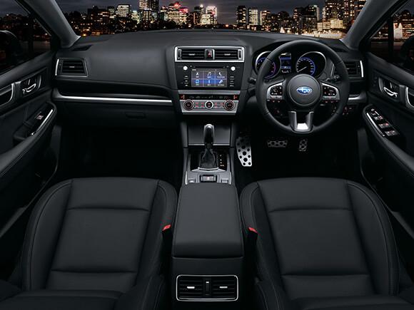 Subaru Liberty 2.5i Premium Black Leather Interior