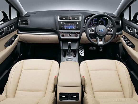 Subaru Liberty 3.6R Ivory Leather Interior