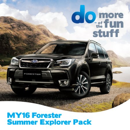 FORESTER SUMMER EXPLORER PACK