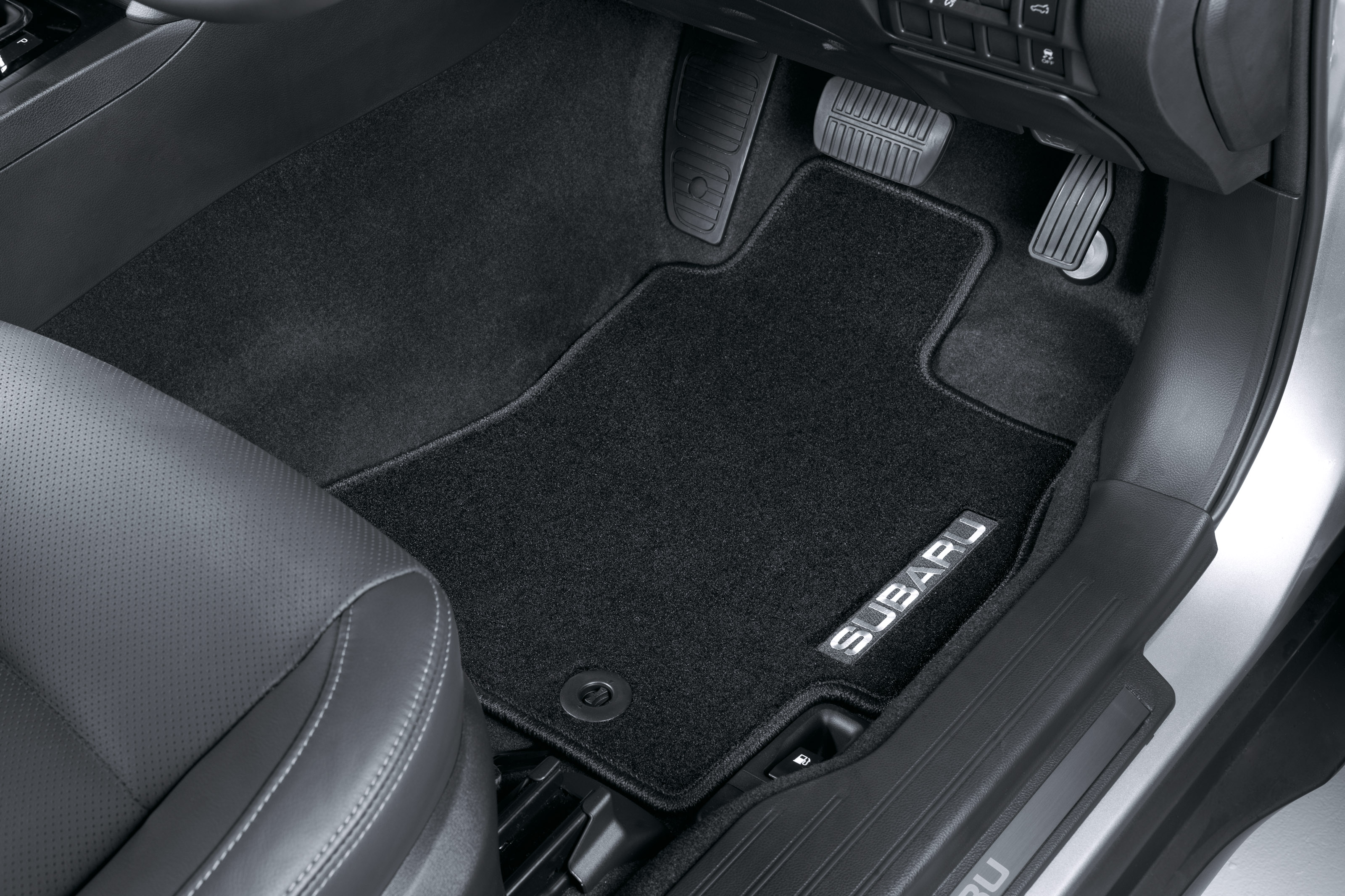 2017 subaru forester floor mats laser measured floor. Black Bedroom Furniture Sets. Home Design Ideas