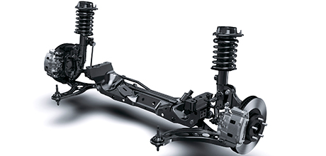 Subaru forester shock absorbers price