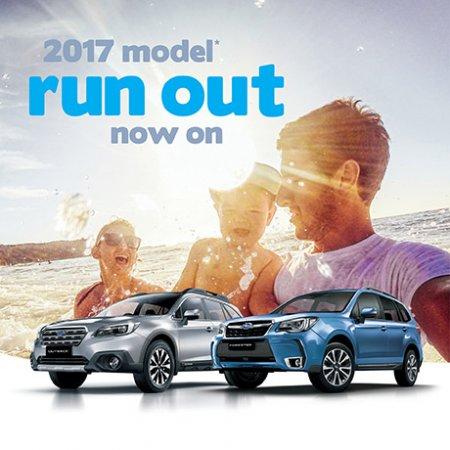 2017 MODEL RUNOUT