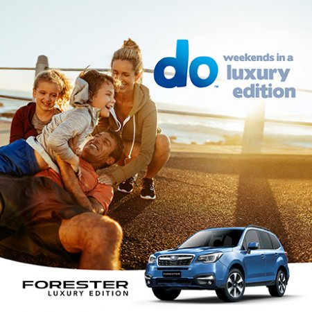 FORESTER 2.5i-L LUXURY EDITION
