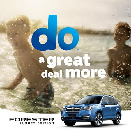 NEW FORESTER 2.5i-L LUXURY FROM $38,990 DRIVE AWAY