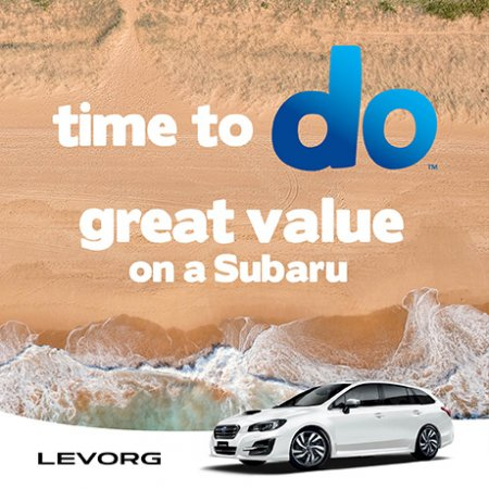LEVORG MARCH OFFER + TRAVEL BAG