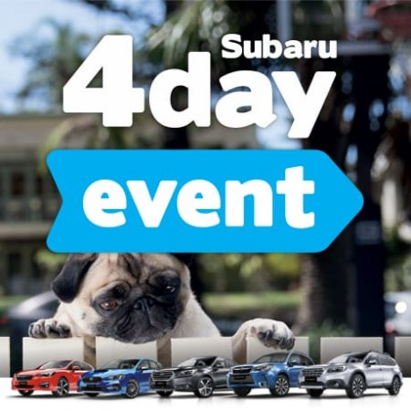 SUBARU'S 4 DAY EVENT